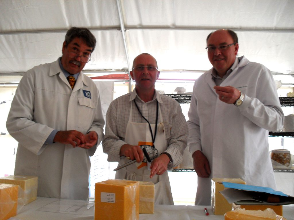 Peter Walker and other Judges at British Cheese Awards 2010